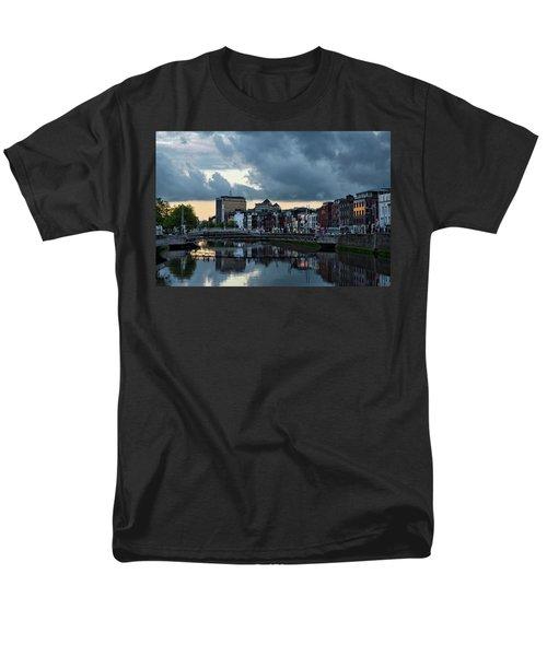 Dublin Sky At Sunset Men's T-Shirt  (Regular Fit)
