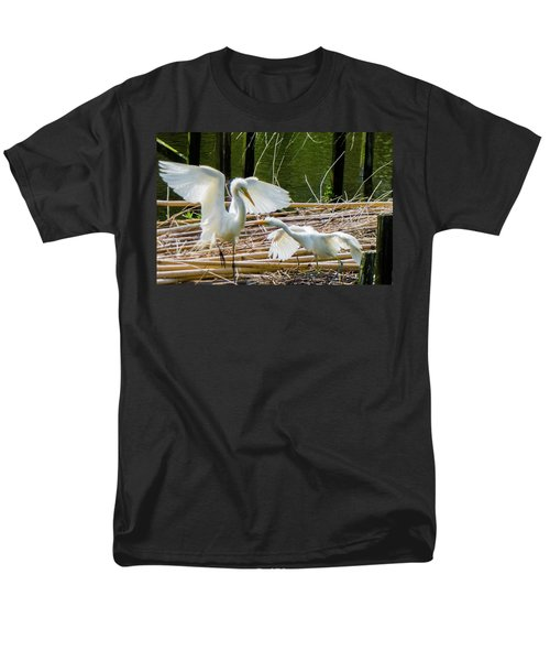 Dueling Bills Men's T-Shirt  (Regular Fit) by Kimo Fernandez