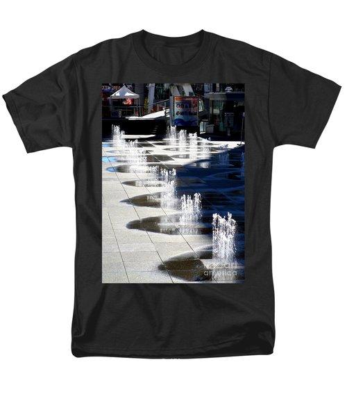 Dundas Square 1 Men's T-Shirt  (Regular Fit) by Randall Weidner