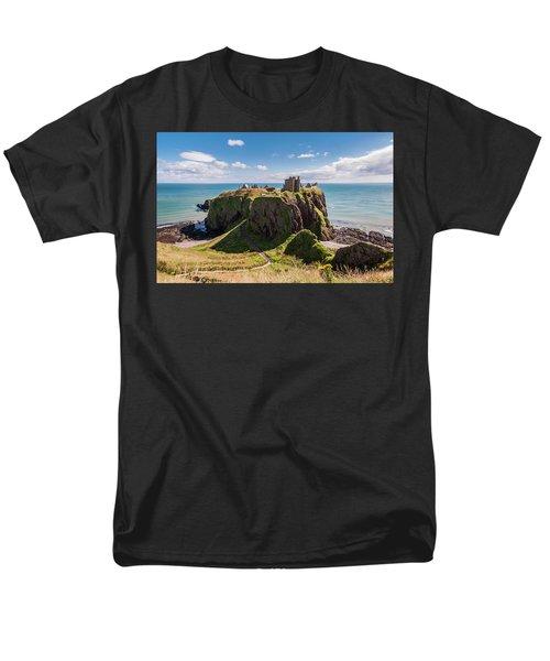 Dunnotar Castle Men's T-Shirt  (Regular Fit) by Sergey Simanovsky