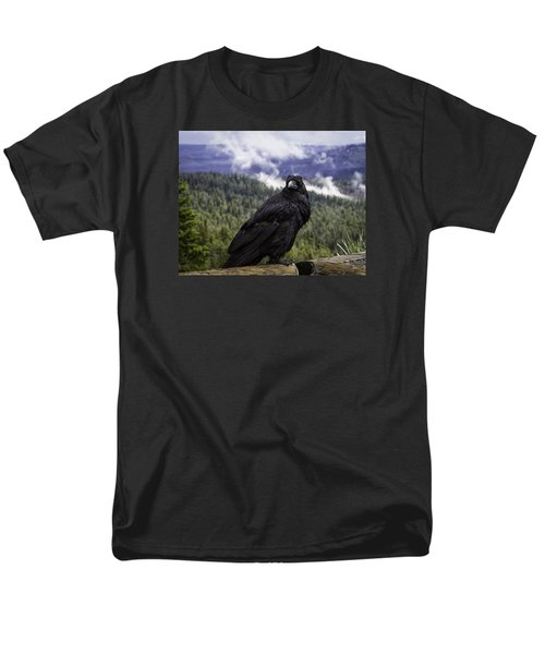 Dunraven Raven Men's T-Shirt  (Regular Fit) by Elizabeth Eldridge