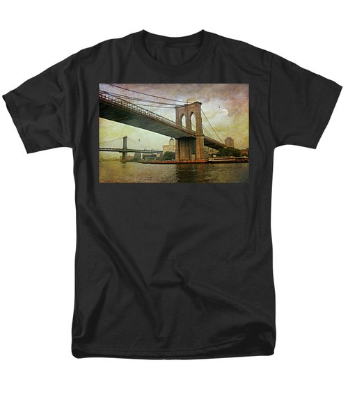 Dusk At The Bridge Men's T-Shirt  (Regular Fit) by Diana Angstadt