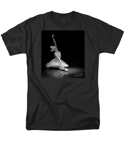 Dying Swan II. Men's T-Shirt  (Regular Fit) by Clare Bambers