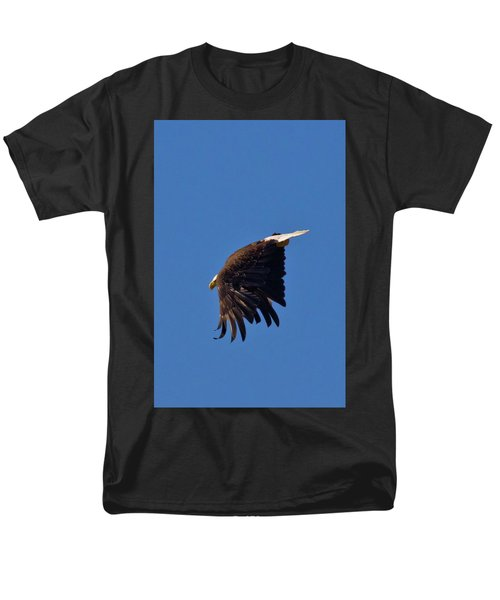 Men's T-Shirt  (Regular Fit) featuring the photograph Eagle Dive by Linda Unger