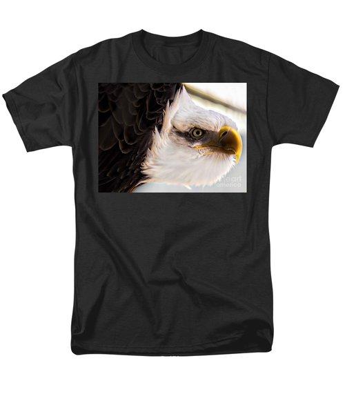 Eagle Eye Men's T-Shirt  (Regular Fit) by Sherman Perry