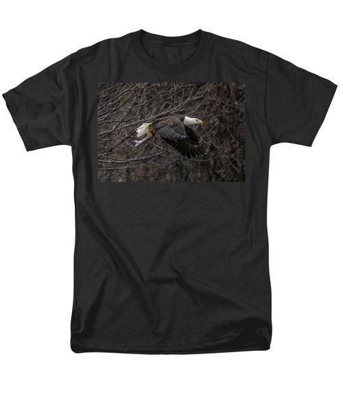 Eagle Fisher Men's T-Shirt  (Regular Fit) by Ray Congrove