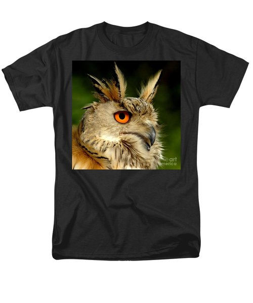 Eagle Owl Men's T-Shirt  (Regular Fit) by Jacky Gerritsen