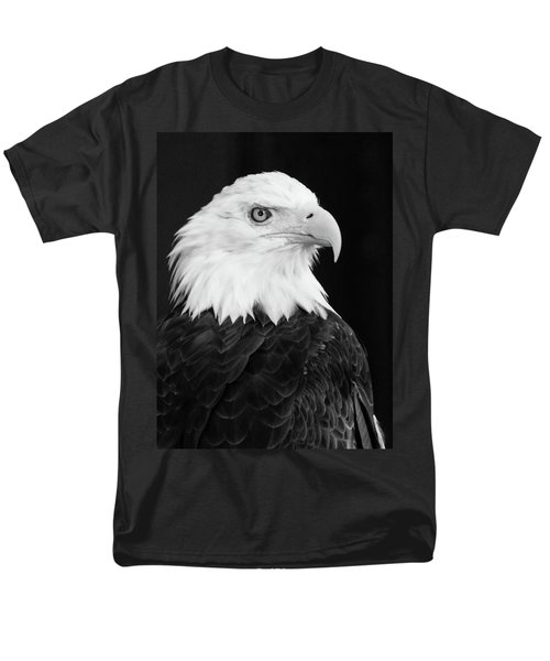 Men's T-Shirt  (Regular Fit) featuring the photograph Eagle Portrait Special  by Coby Cooper