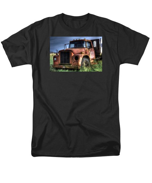 Men's T-Shirt  (Regular Fit) featuring the photograph Earl Latsha Lumber Company Version 3 by Shelley Neff