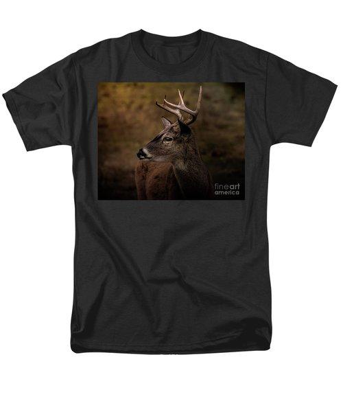 Men's T-Shirt  (Regular Fit) featuring the photograph Early Buck by Robert Frederick
