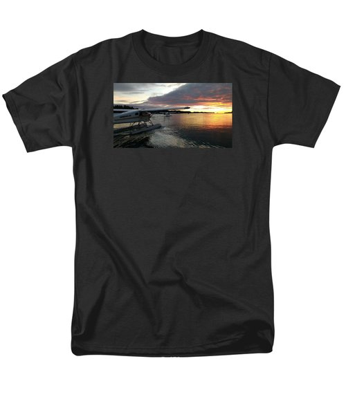 Men's T-Shirt  (Regular Fit) featuring the photograph Early Departures by Mark Alan Perry