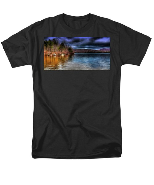 Men's T-Shirt  (Regular Fit) featuring the photograph Early May On Limekiln Lake by David Patterson