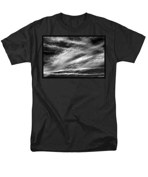 Men's T-Shirt  (Regular Fit) featuring the photograph Early Morning Sky. by Terence Davis