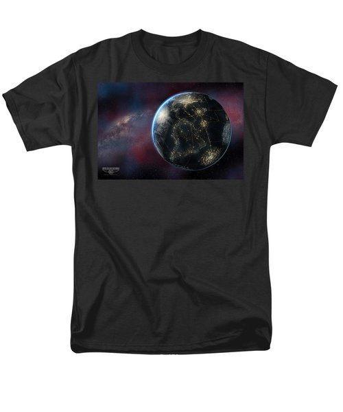 Earth One Day Men's T-Shirt  (Regular Fit) by David Collins