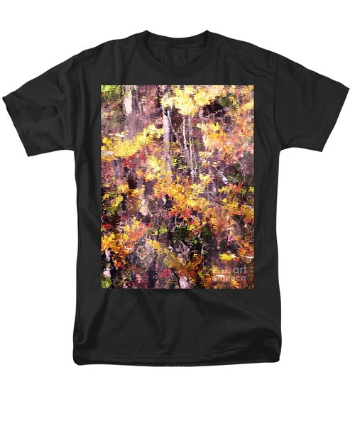 Men's T-Shirt  (Regular Fit) featuring the photograph Earthy Water by Melissa Stoudt