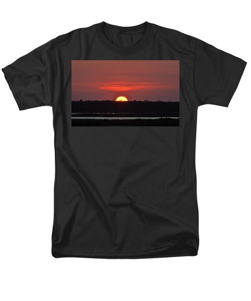Men's T-Shirt  (Regular Fit) featuring the photograph Ease Into Night... by John Glass