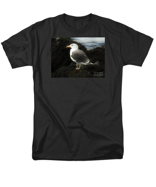 East Coast Herring Seagull Men's T-Shirt  (Regular Fit) by Marcia Lee Jones