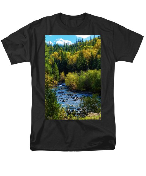 East Fork Autumn Men's T-Shirt  (Regular Fit) by Jason Coward