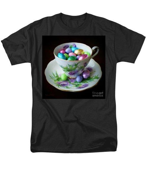 Easter Teacup Men's T-Shirt  (Regular Fit) by Robert ONeil
