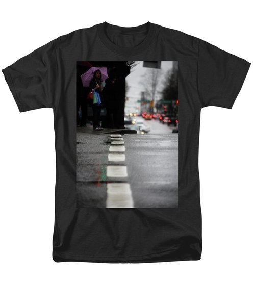Echoes In The Rain Drops  Men's T-Shirt  (Regular Fit) by Empty Wall
