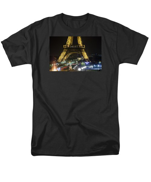 Eiffel Tower Men's T-Shirt  (Regular Fit) by Andrew Soundarajan