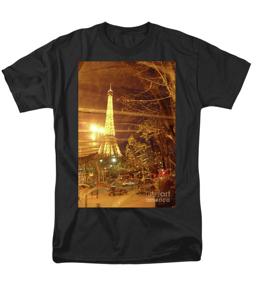 Eiffel Tower By Bus Tour Men's T-Shirt  (Regular Fit) by Felipe Adan Lerma