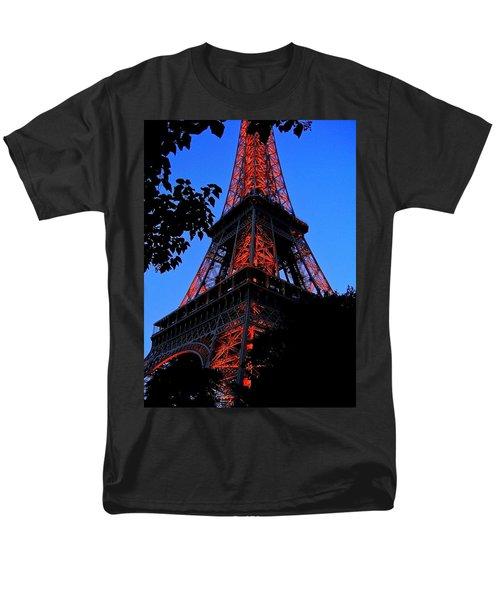 Eiffel Tower Men's T-Shirt  (Regular Fit) by Juergen Weiss