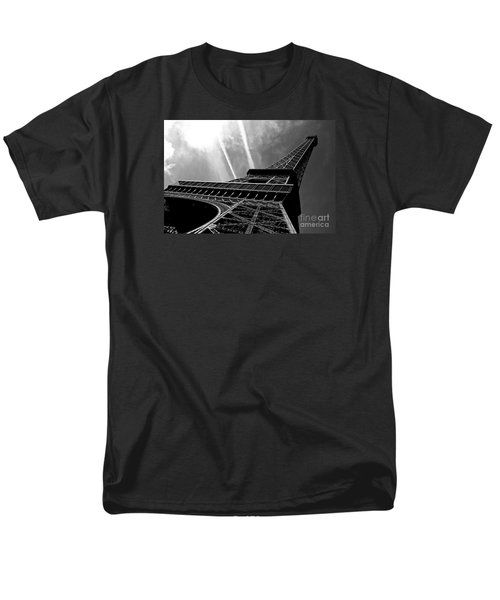 Eiffel Tower Men's T-Shirt  (Regular Fit) by M G Whittingham