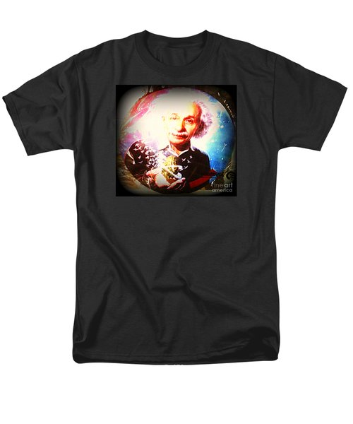 Einstein On Pot Men's T-Shirt  (Regular Fit) by Kelly Awad