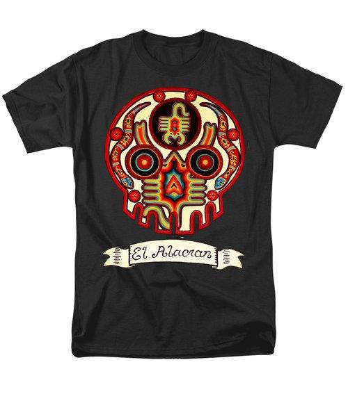 El Alacran - The Scorpion Men's T-Shirt  (Regular Fit) by Mix Luera