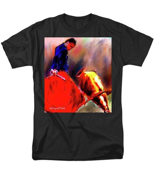 El Matador Men's T-Shirt  (Regular Fit) by Ted Azriel