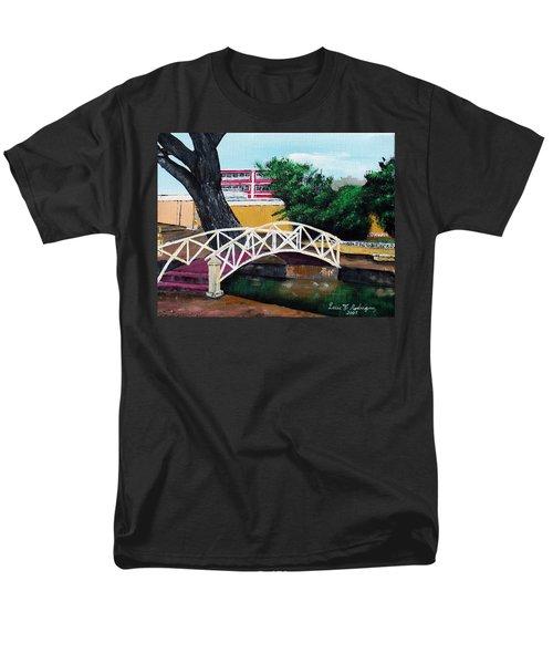 El Parterre Men's T-Shirt  (Regular Fit) by Luis F Rodriguez