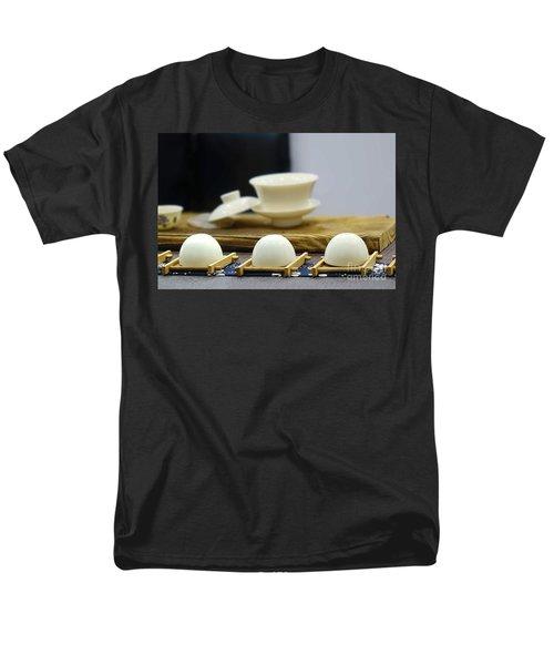 Elegant Chinese Tea Set Men's T-Shirt  (Regular Fit) by Yali Shi