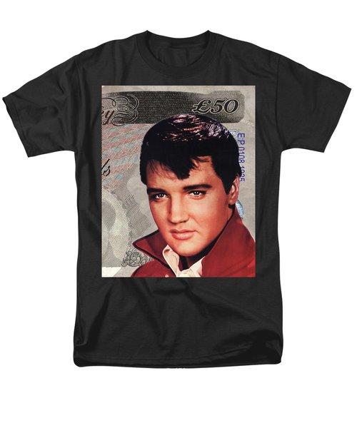 Elvis Presley Men's T-Shirt  (Regular Fit) by Unknown