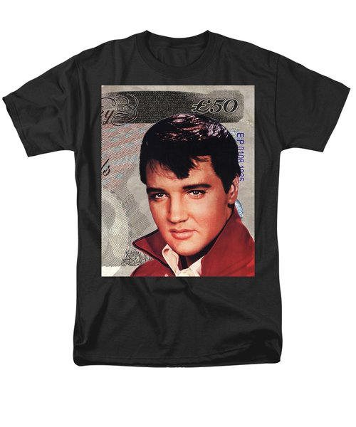 Elvis Presley Men's T-Shirt  (Regular Fit)