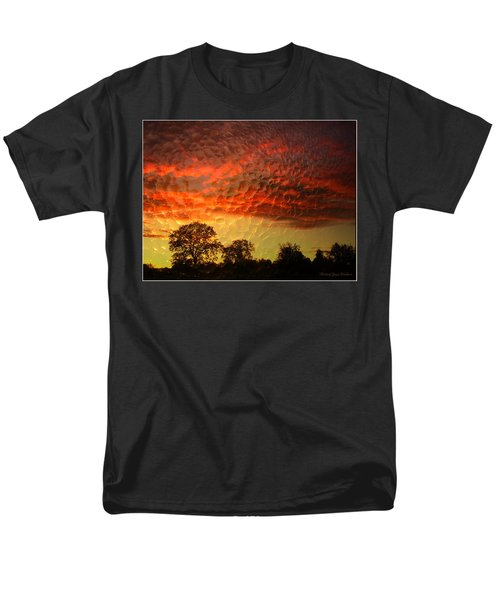 Men's T-Shirt  (Regular Fit) featuring the photograph Embossed Sunrise by Joyce Dickens