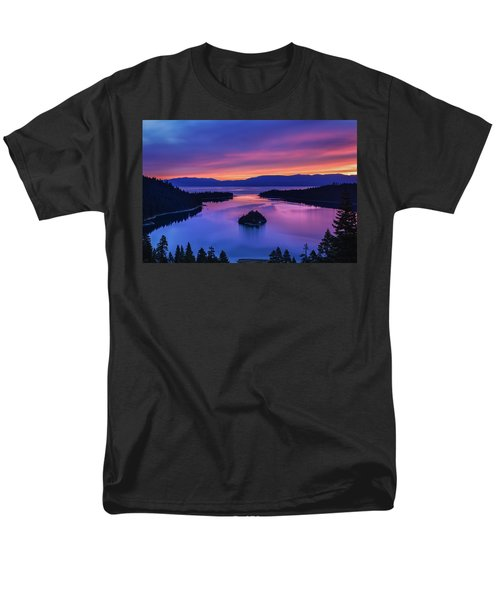 Emerald Bay Clouds At Sunrise Men's T-Shirt  (Regular Fit) by Marc Crumpler
