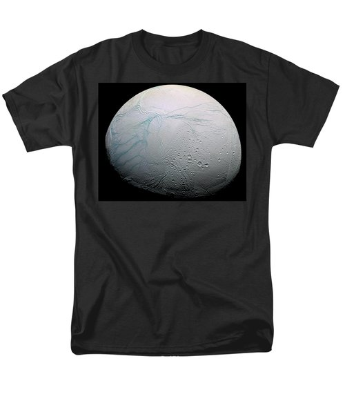 Men's T-Shirt  (Regular Fit) featuring the photograph Enceladus Hd by Adam Romanowicz