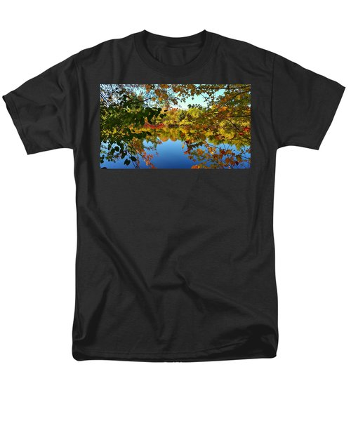 Men's T-Shirt  (Regular Fit) featuring the photograph Enchanted Fall by Valentino Visentini