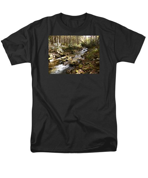 Enchanted Stream - October 2015 Men's T-Shirt  (Regular Fit) by Joel Deutsch