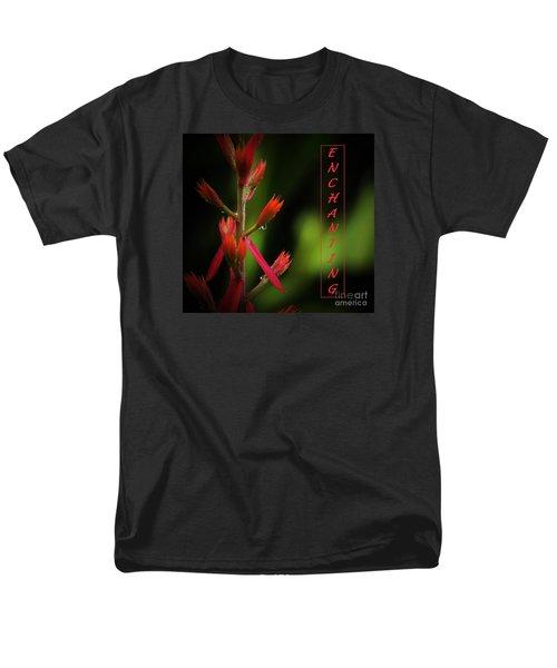 Men's T-Shirt  (Regular Fit) featuring the photograph Enchanting by Pamela Blizzard