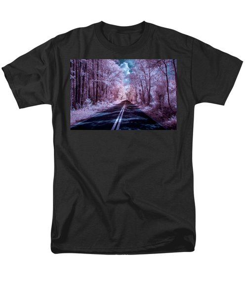 Men's T-Shirt  (Regular Fit) featuring the photograph End Of The Road by Louis Ferreira