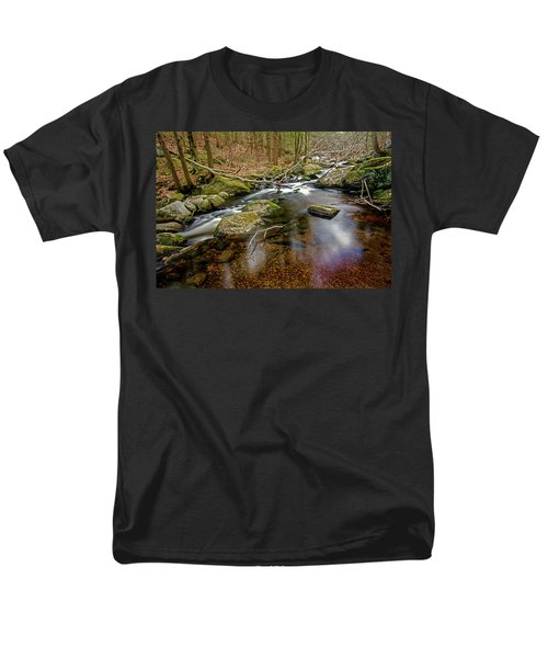 Enders Falls Men's T-Shirt  (Regular Fit) by Jim Gillen