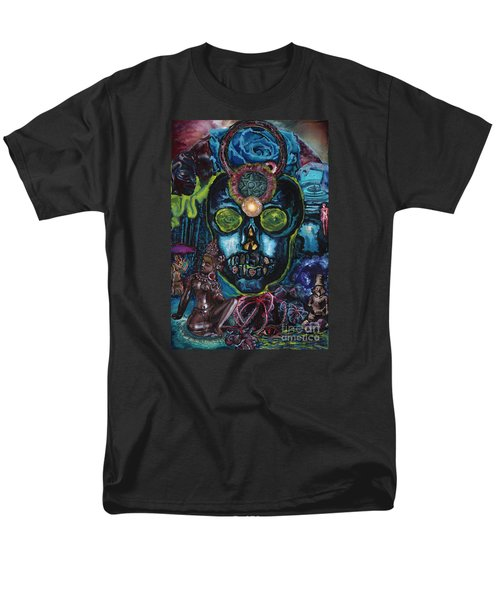 Energy Self Portrait Men's T-Shirt  (Regular Fit) by Emily McLaughlin