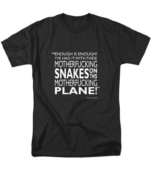 Enough Is Enough Men's T-Shirt  (Regular Fit) by Mark Rogan
