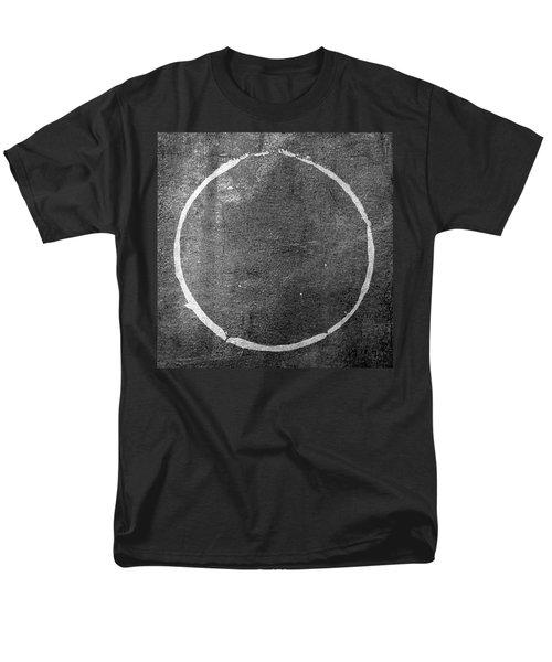 Men's T-Shirt  (Regular Fit) featuring the digital art Enso 2017-22 by Julie Niemela