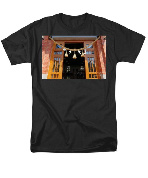 Entrance To The Wu De Martial Arts Hall Men's T-Shirt  (Regular Fit) by Yali Shi