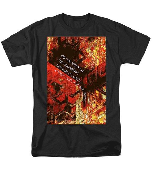 Entropy Men's T-Shirt  (Regular Fit) by Chuck Mountain