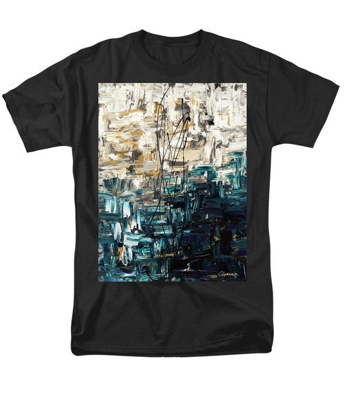 Men's T-Shirt  (Regular Fit) featuring the painting Envisioning by Carmen Guedez