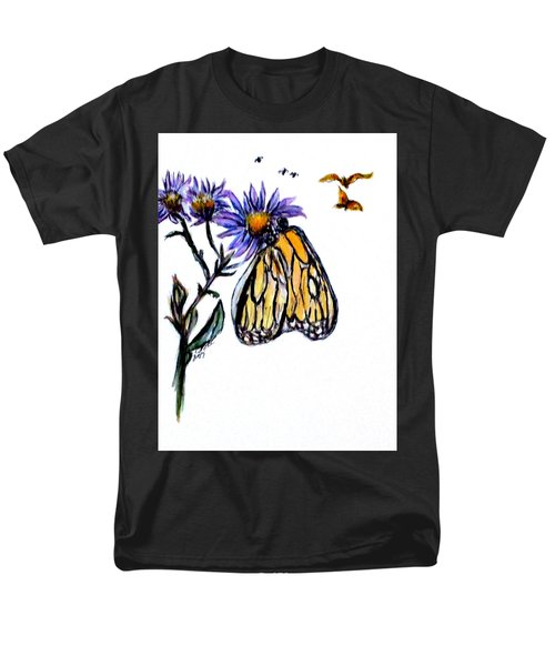 Erika's Butterfly One Men's T-Shirt  (Regular Fit) by Clyde J Kell